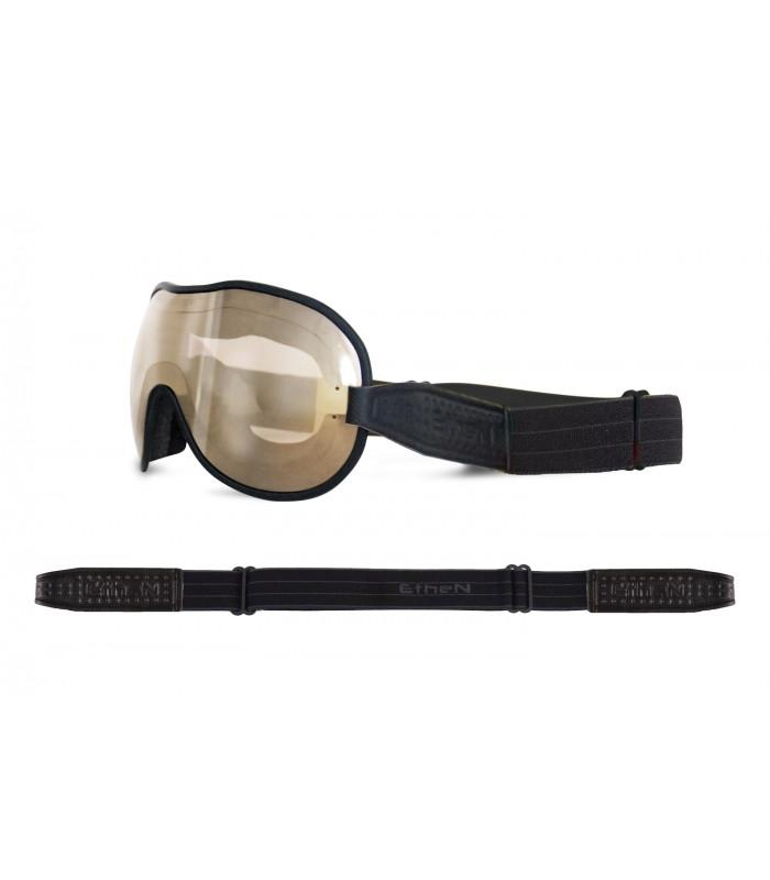 Ethen - Ethen Cafe Racer Goggles - Black - Goggles - Salt Flats Clothing