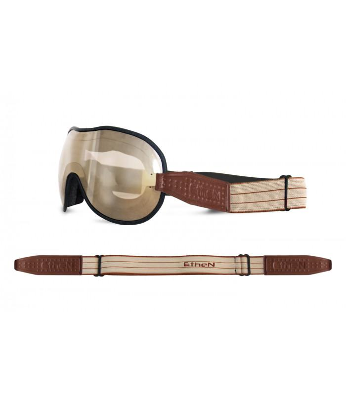 Ethen - Ethen Cafe Racer Goggles - Brown - Goggles - Salt Flats Clothing
