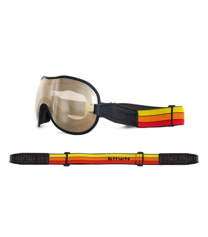 Ethen - Ethen Cafe Racer Goggles - Orange - Goggles - Salt Flats Clothing