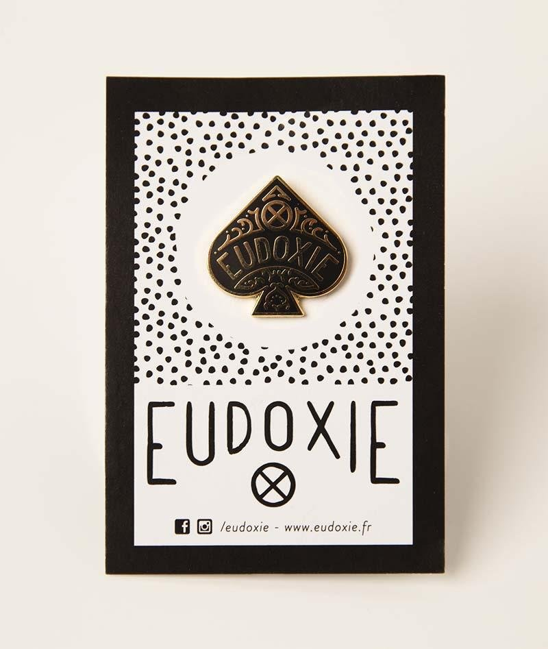 Eudoxie - Eudoxie Ace of Spades Pin - Accessories - Salt Flats Clothing