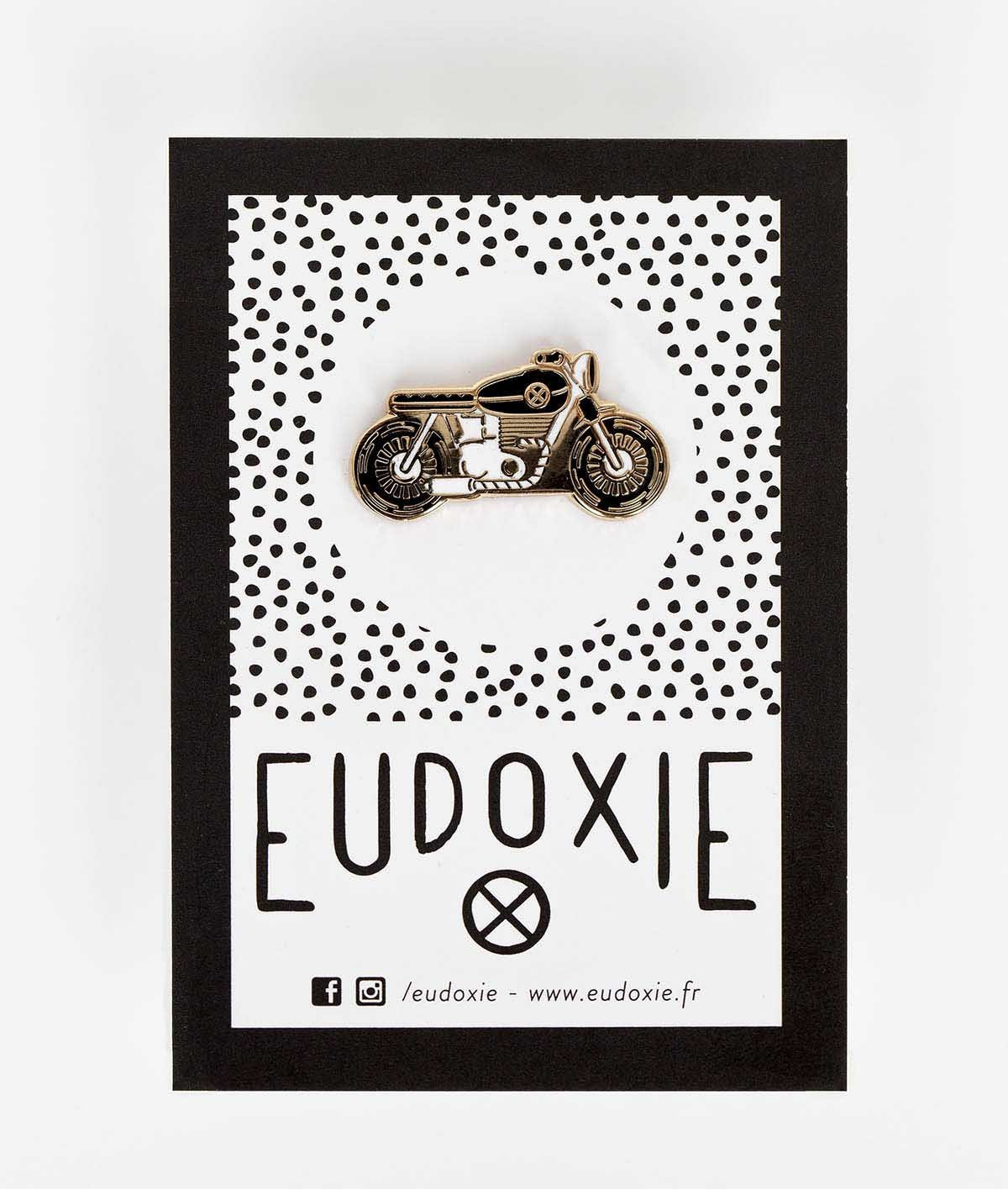 Eudoxie - Eudoxie Bike Pin - Accessories - Salt Flats Clothing