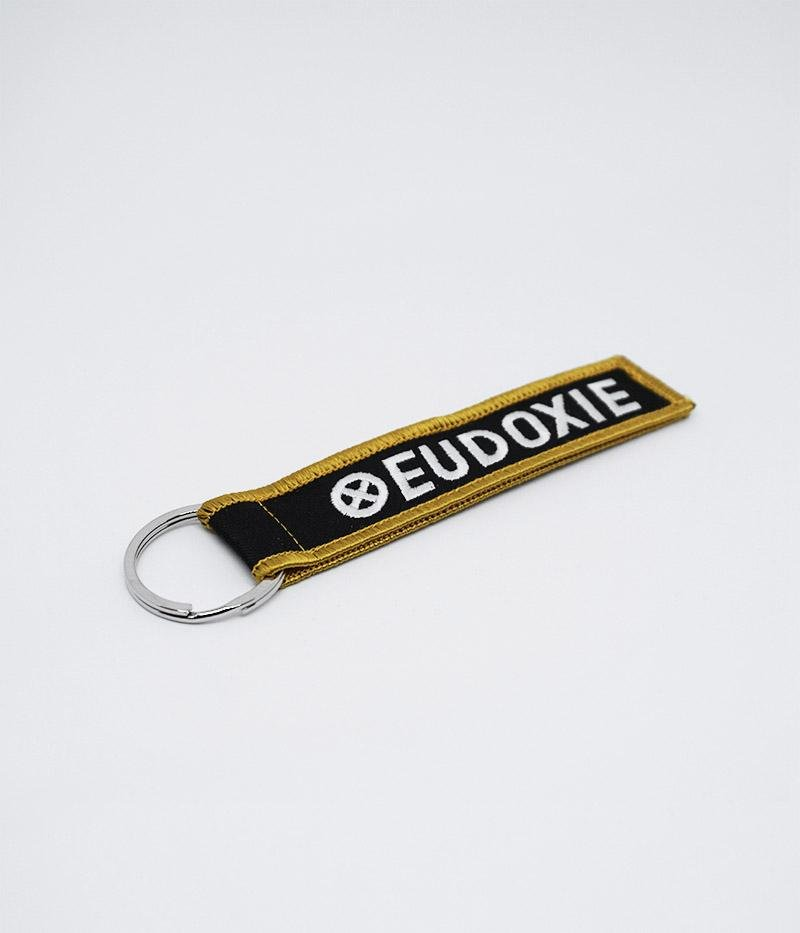 Eudoxie - Eudoxie Black Keyring - Accessories - Salt Flats Clothing