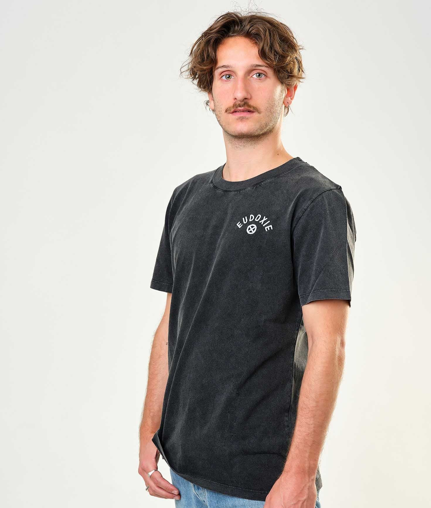 Eudoxie - Eudoxie Bonnie Black Unisex T'Shirt - T-Shirts - Salt Flats Clothing