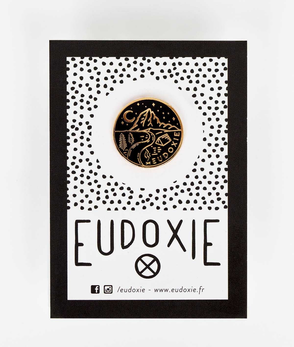 Eudoxie - Eudoxie Camp Pin - Accessories - Salt Flats Clothing
