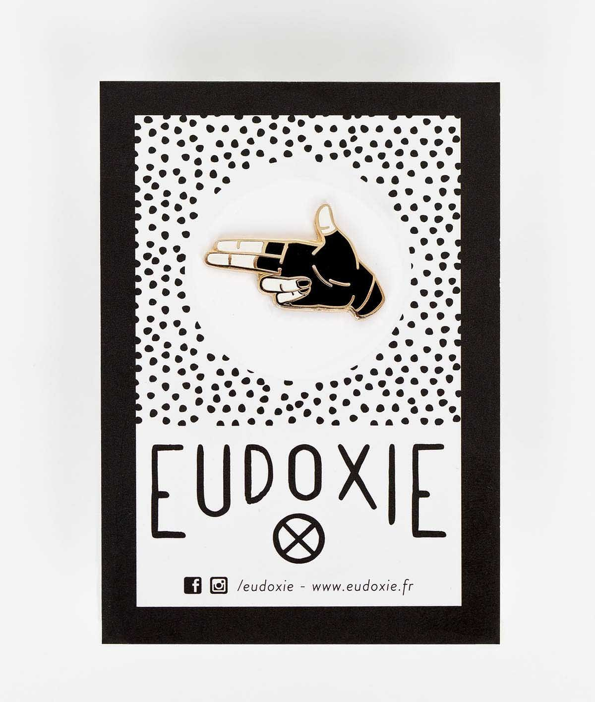 Eudoxie - Eudoxie Hello Pin - Accessories - Salt Flats Clothing