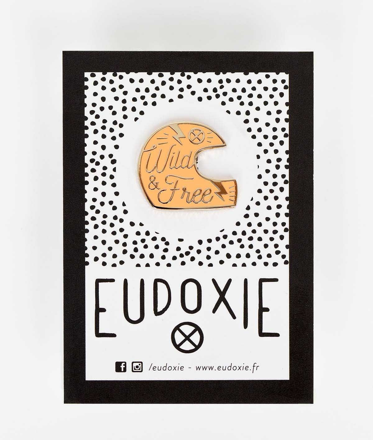 Eudoxie - Eudoxie Helmet Coral Pin - Accessories - Salt Flats Clothing