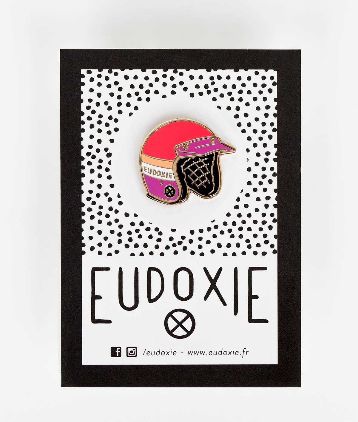Eudoxie - Eudoxie Jet Pin - Accessories - Salt Flats Clothing