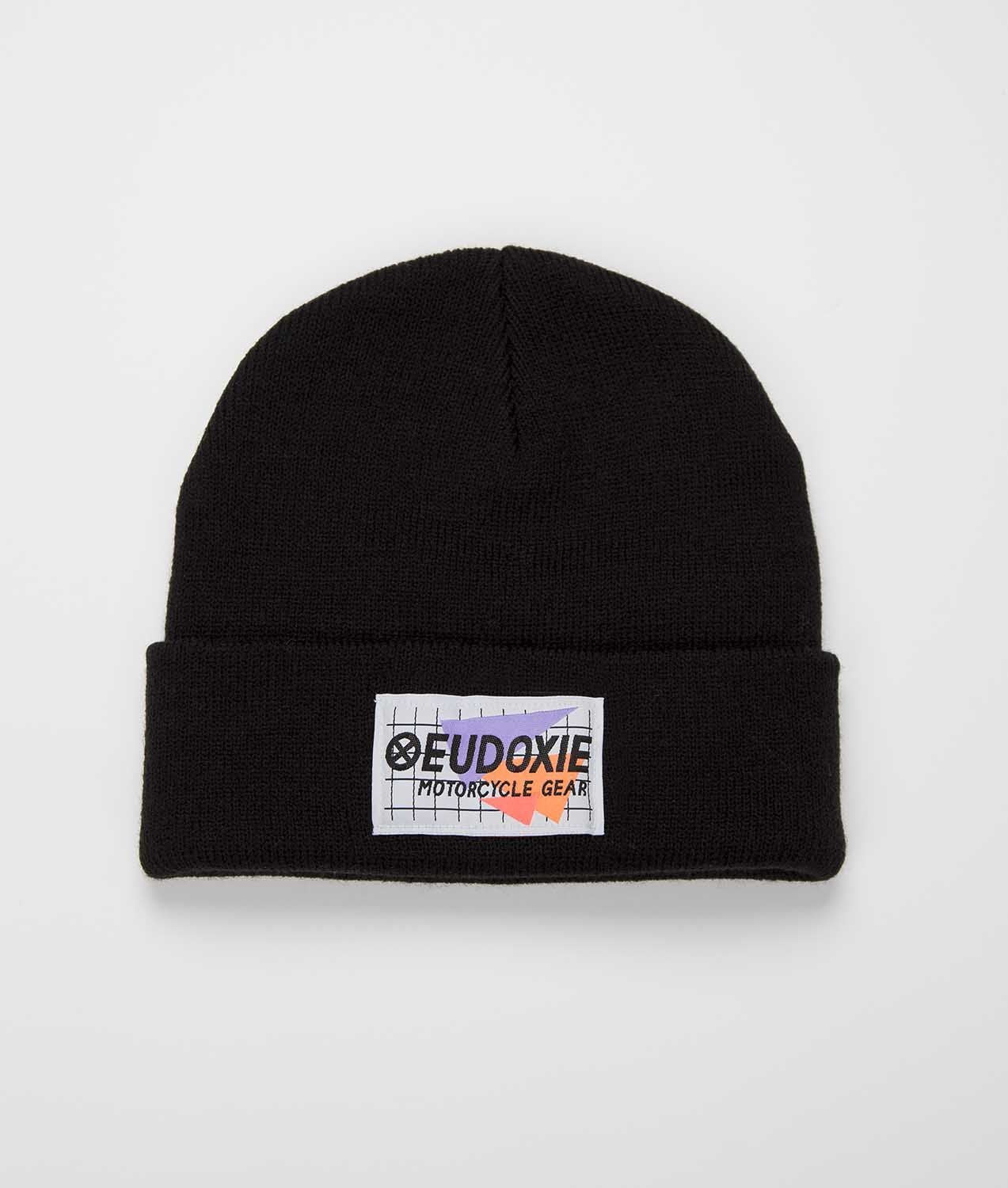 Eudoxie - Eudoxie Ride Beanie Black - Caps - Salt Flats Clothing