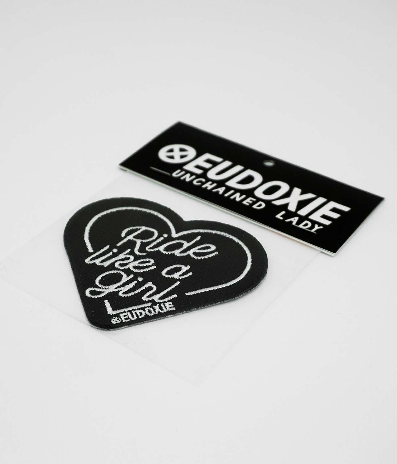 Eudoxie - Eudoxie Ride Like a Girl Patches - Accessories - Salt Flats Clothing