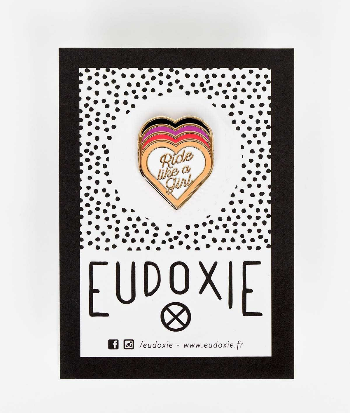 Eudoxie - Eudoxie Ride Multi Colour Pin - Accessories - Salt Flats Clothing