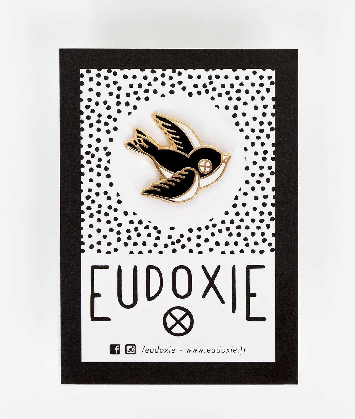 Eudoxie - Eudoxie Swallow Pin - Accessories - Salt Flats Clothing