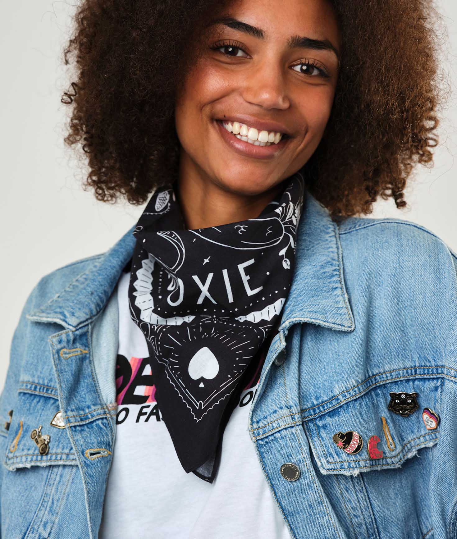 Eudoxie - Eudoxie Thelma Black Bandana - Bandana's and Tubes - Salt Flats Clothing