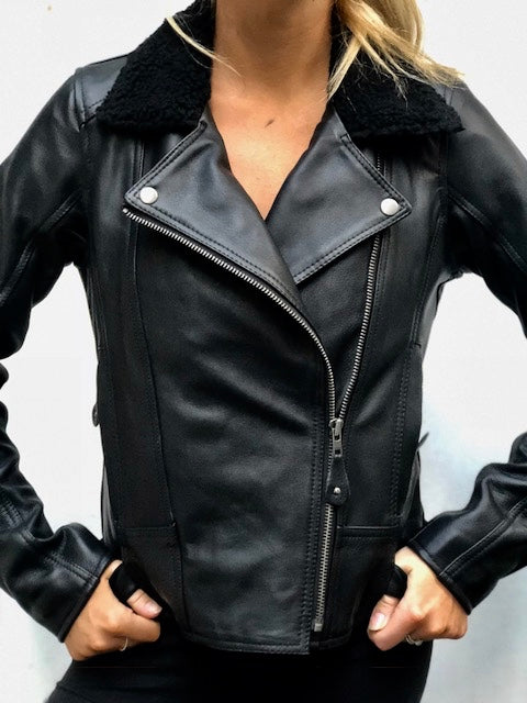 Blackbird Motorcycle Wear Night Owl Ladies MotorcycleJacket