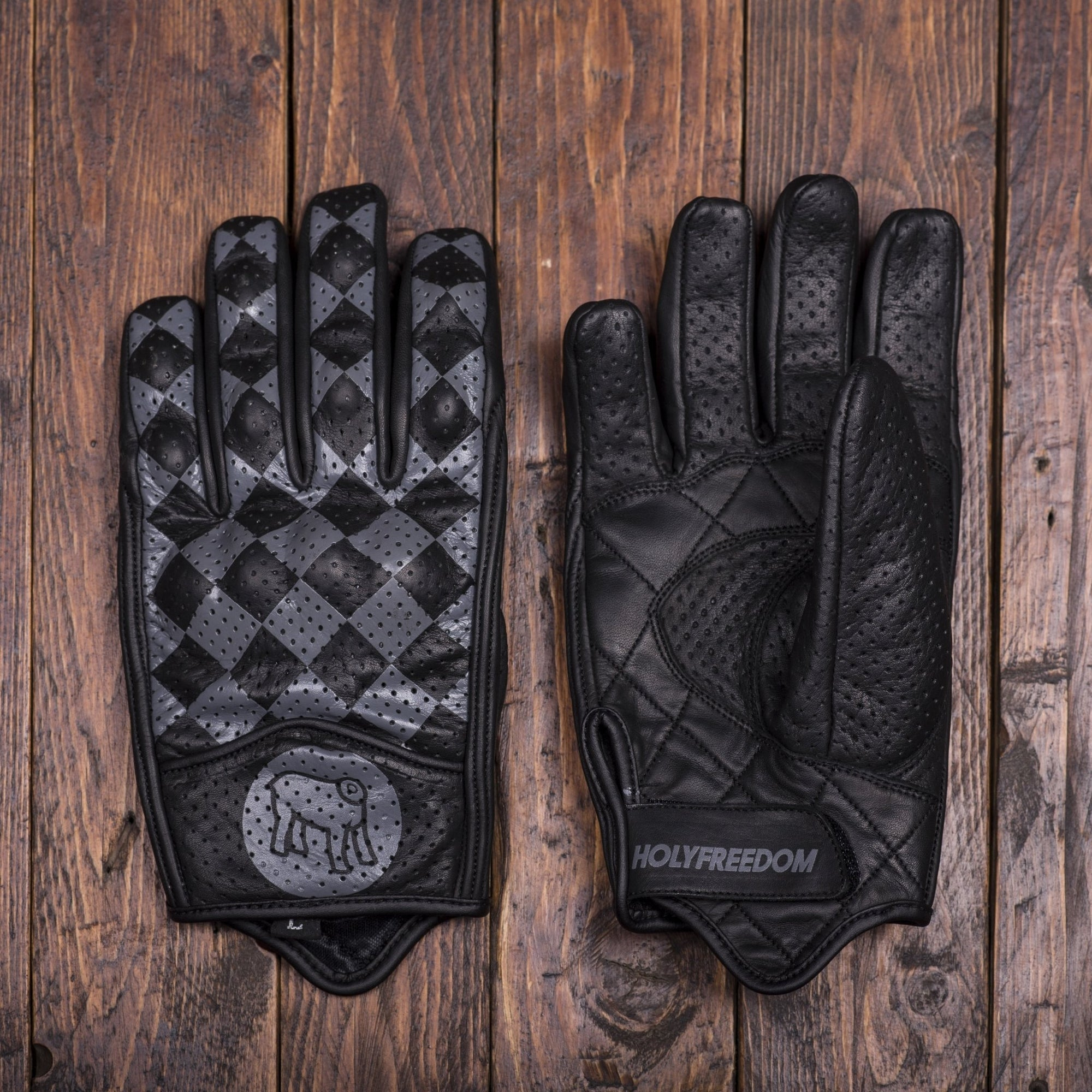 Holy Freedom - Holy Freedom Bullit Black and Anthracite Gloves - Gloves - Salt Flats Clothing