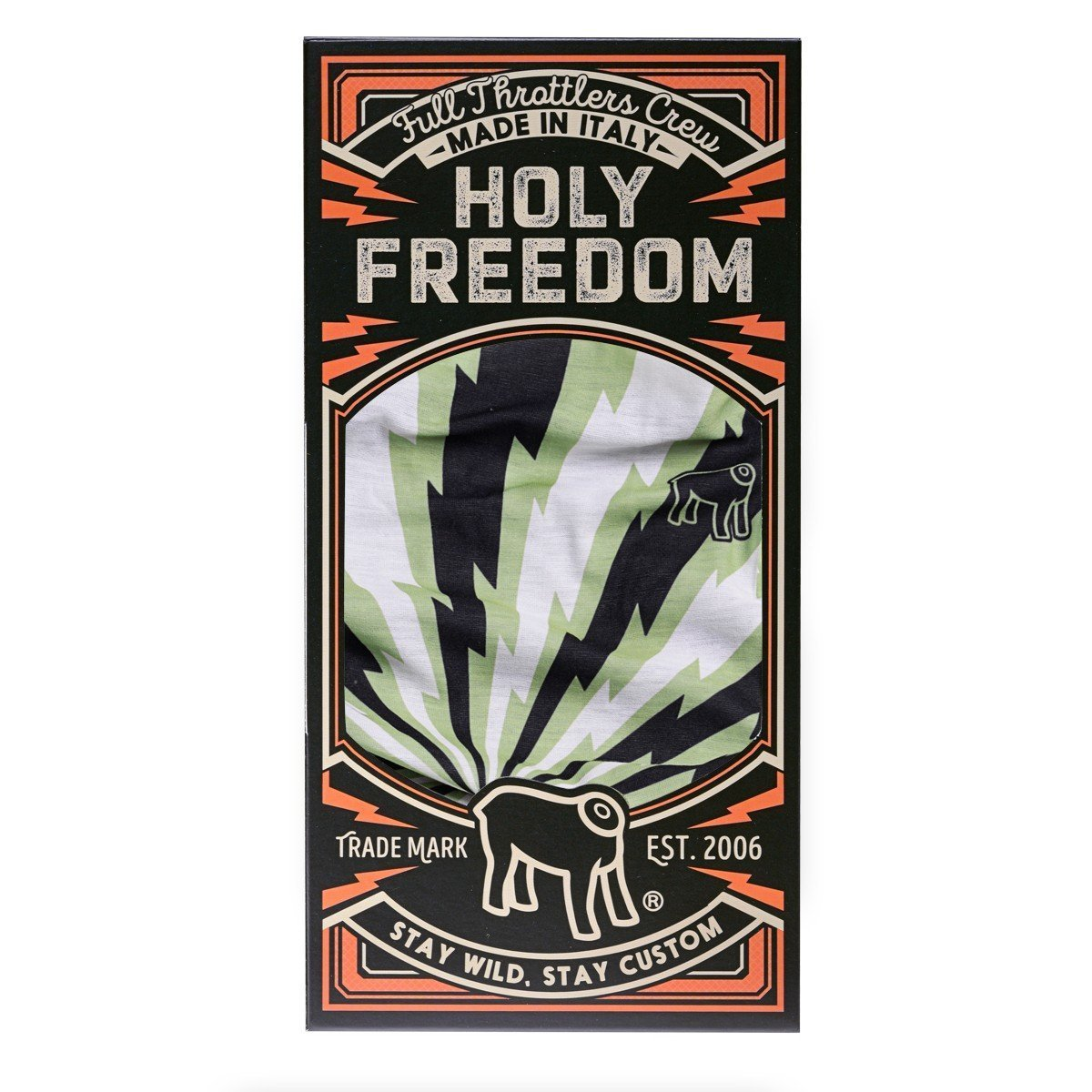 Holy Freedom - Holy Freedom Danger Primaloft Bandana Tube - Bandana's and Tubes - Salt Flats Clothing