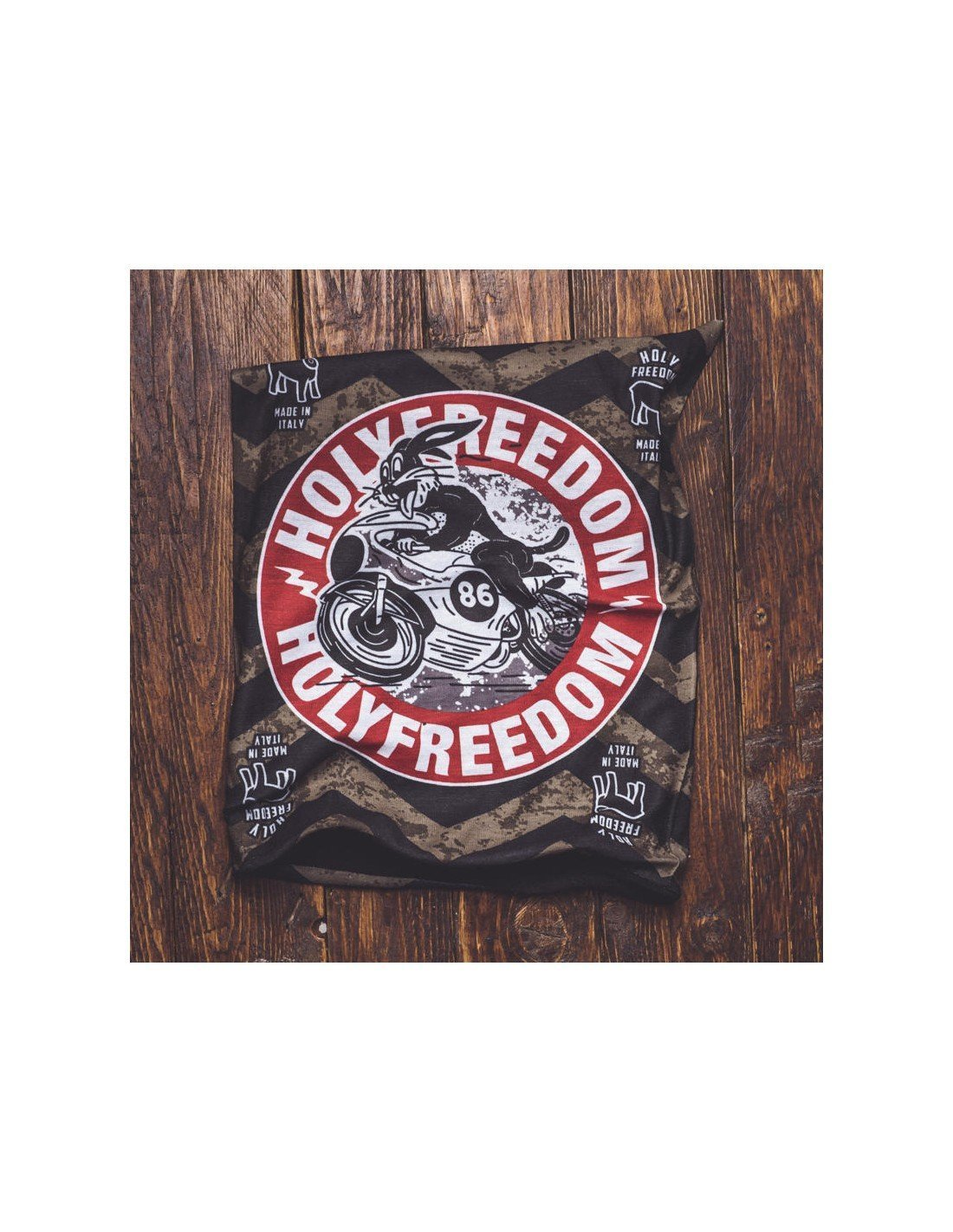 Holy Freedom Fast Rabbit Polar Bandana Tube - Bandana's and Tubes - Salt Flats Clothing