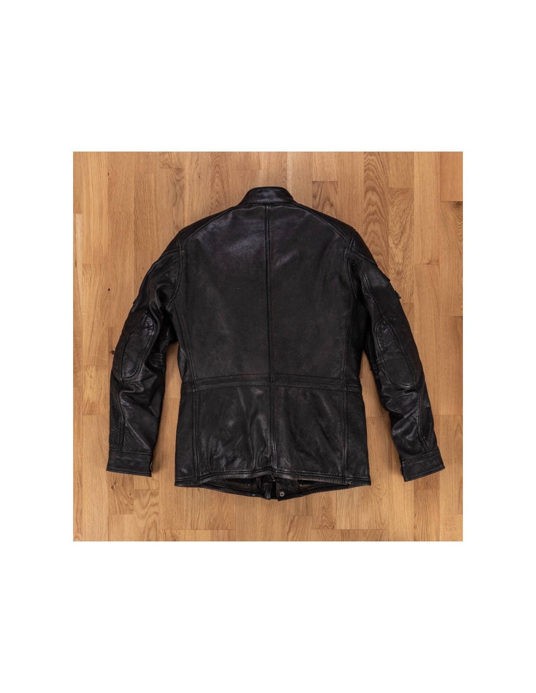 Holy Freedom Quattro Black Men's Leather Jacket With No Badges