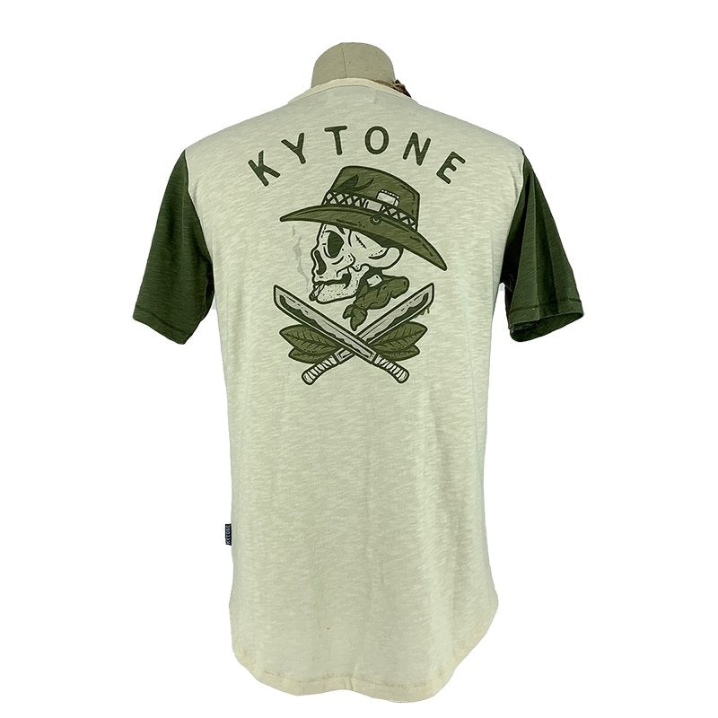 Kytone - Kytone Bob Cream T'Shirt - T-Shirts - Salt Flats Clothing