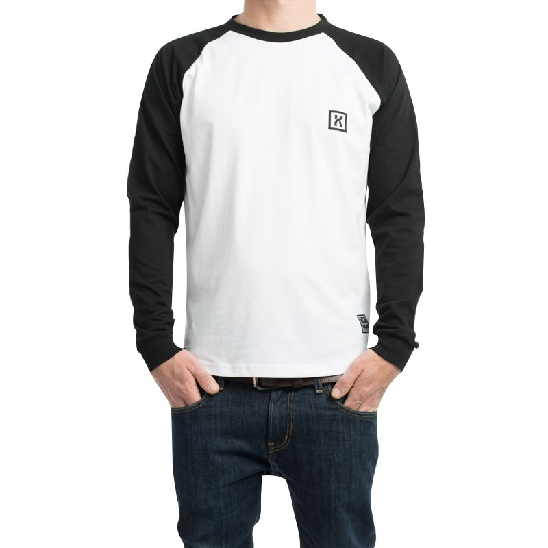 Kytone - Kytone Bones Long Sleeve T'Shirt - T-Shirts - Salt Flats Clothing