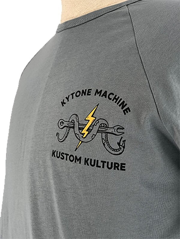 Kytone - Kytone Snake MC 1 T'Shirt - T-Shirts - Salt Flats Clothing