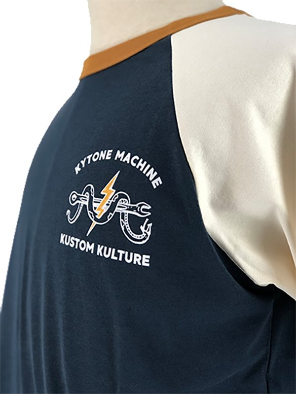 Kytone - Kytone Snake MC T'Shirt - T-Shirts - Salt Flats Clothing