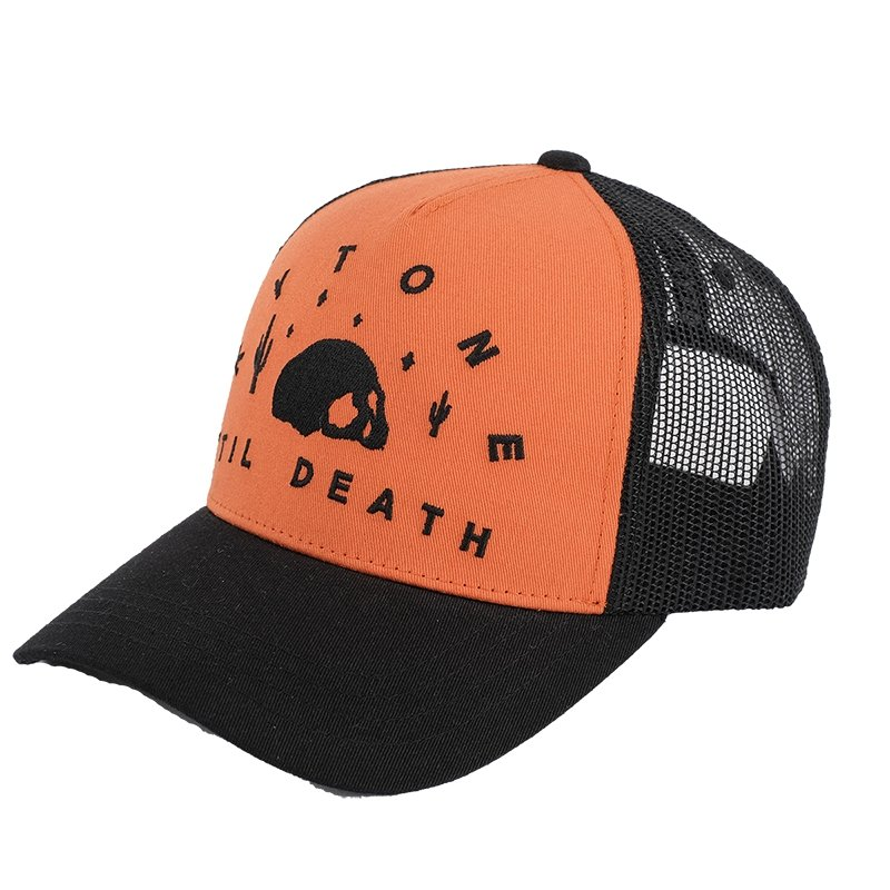 Kytone - Kytone Til Orange Cap - Caps - Salt Flats Clothing