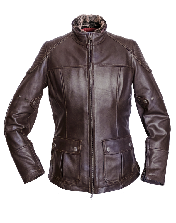 By City Ladies Legend II Leather Motorcycle Jacket