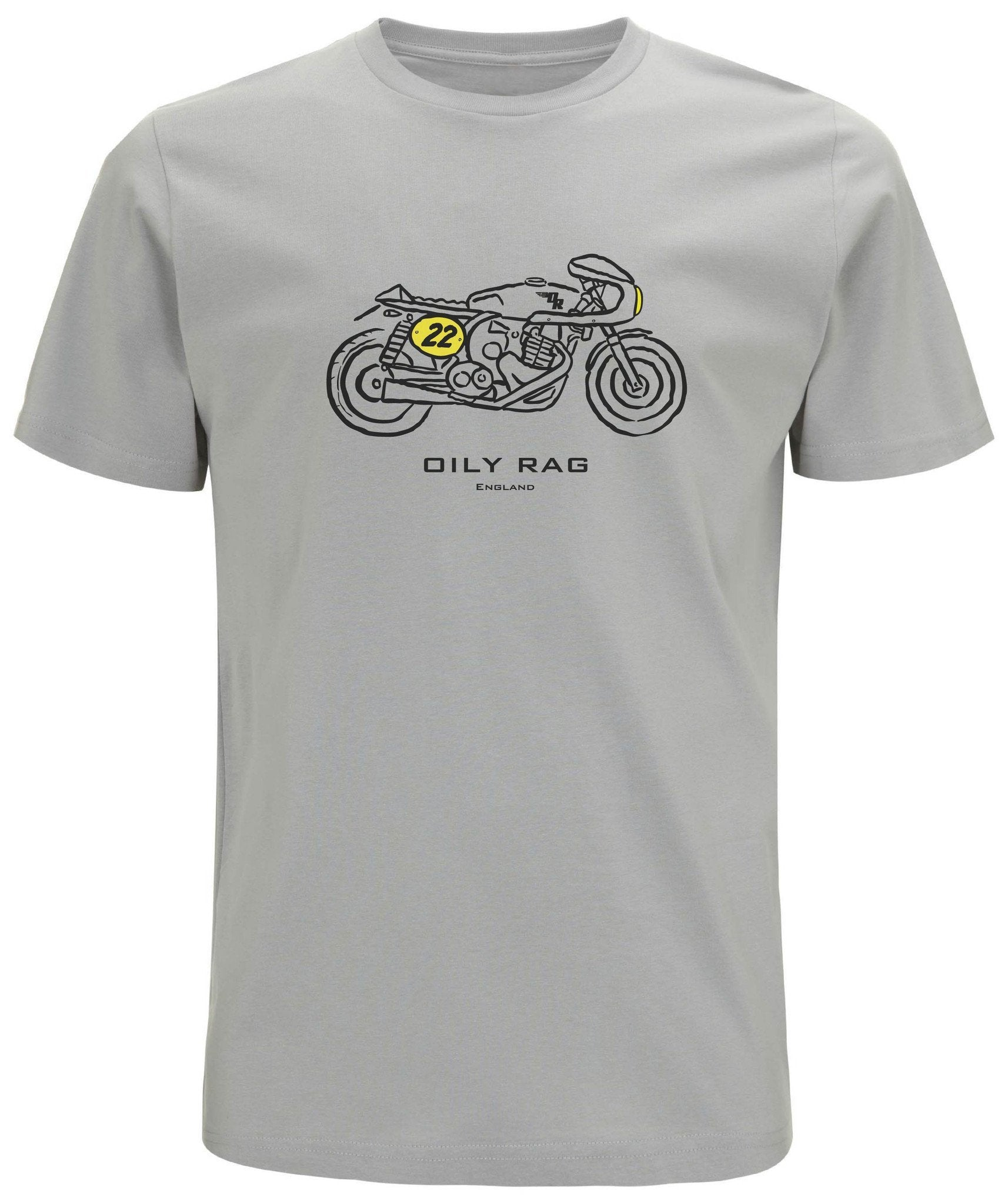 Oily Rag Clothing - Oily Rag Clothing Bike T'Shirt - T-Shirts - Salt Flats Clothing