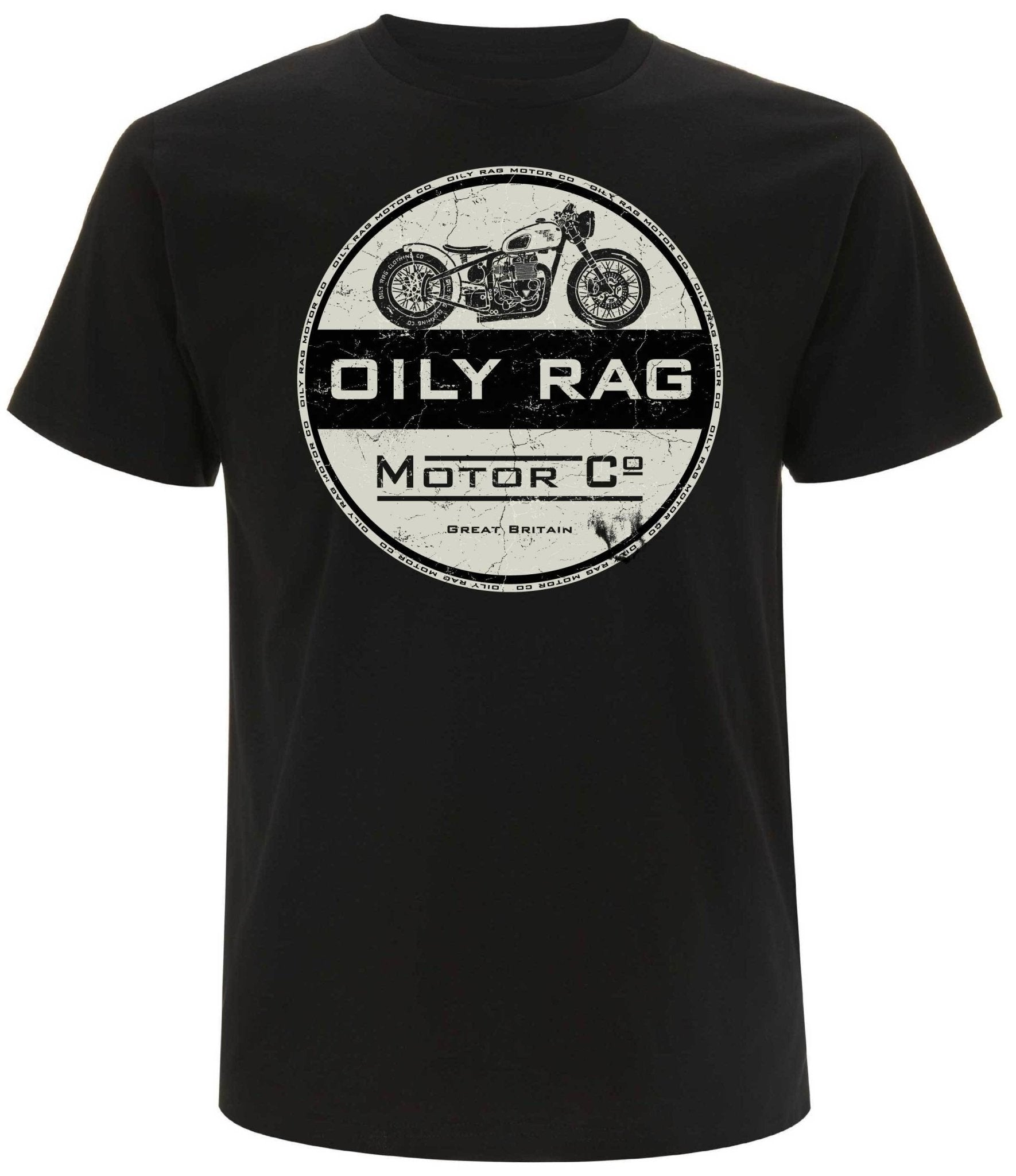 Oily Rag Clothing-Oily Rag Clothing Black Label Motor Co T' Shirt-T-Shirts-Salt Flats Clothing