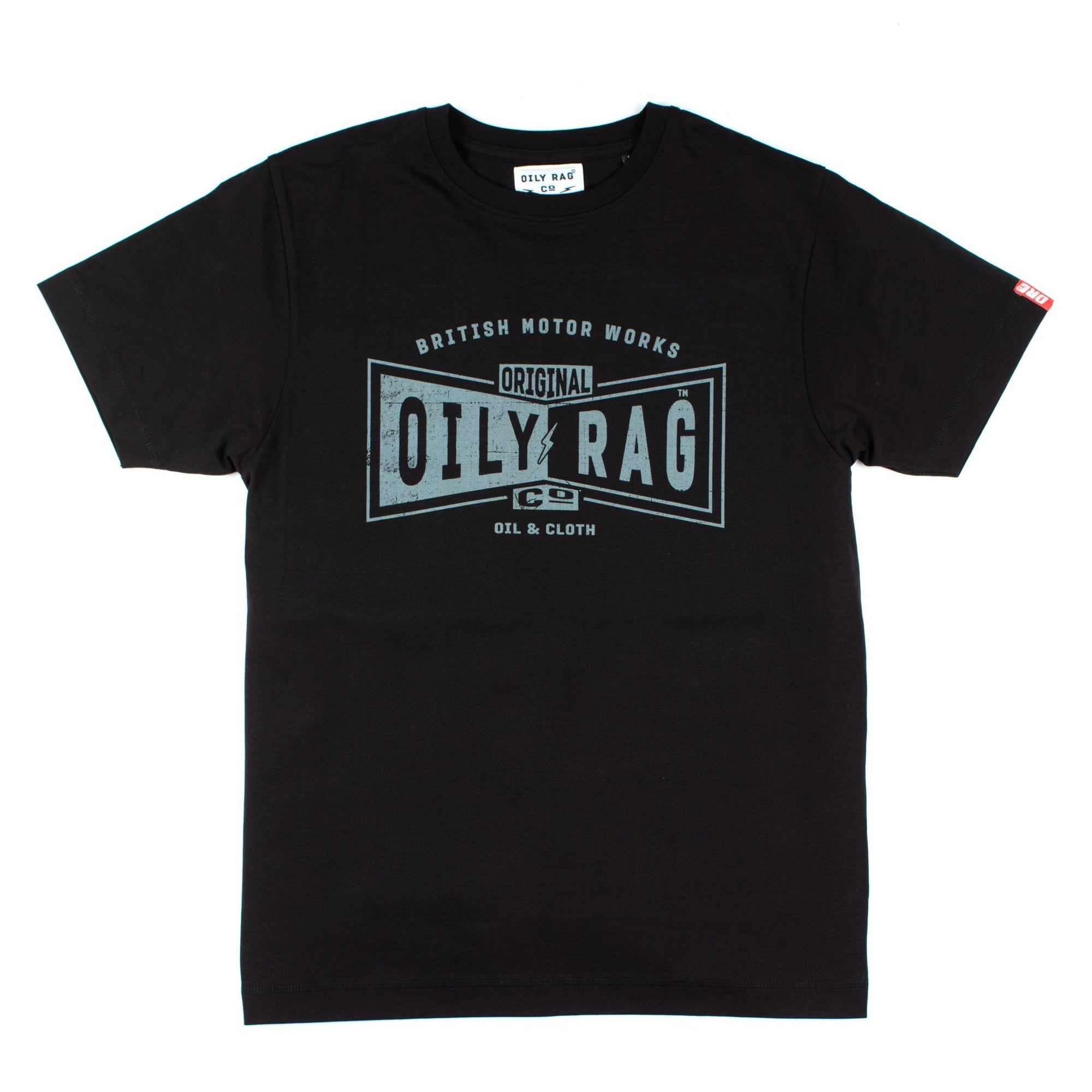 Oily Rag Clothing - Oily Rag Clothing Black Label Original T'Shirt - T-Shirts - Salt Flats Clothing