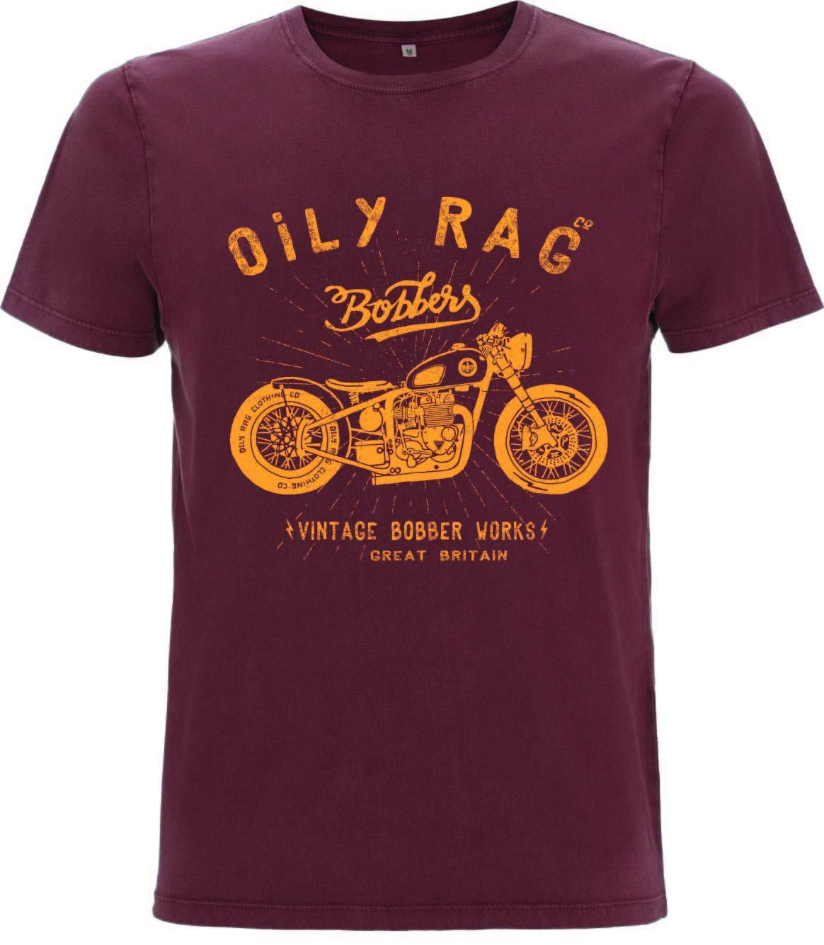 Oily Rag Clothing - Oily Rag Clothing Bobber Works T'Shirt - T-Shirts - Salt Flats Clothing