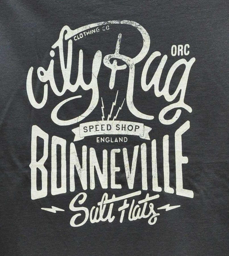 Oily Rag Clothing - Oily Rag Clothing Bonneville Racing 14 T'Shirt - T-Shirts - Salt Flats Clothing