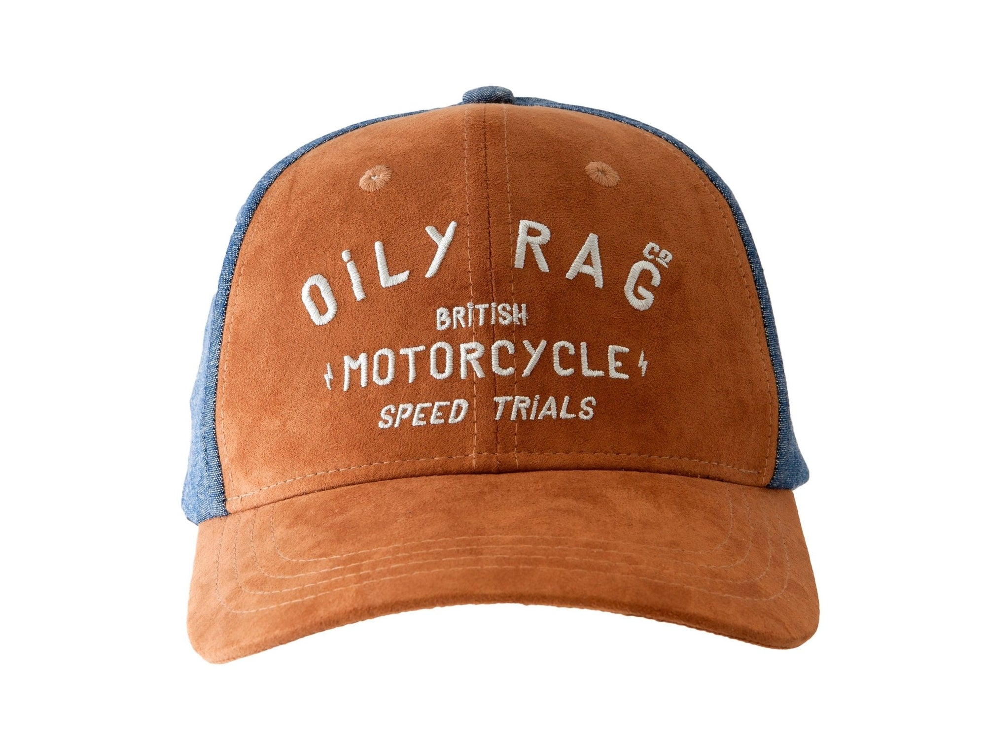 Oily Rag Clothing - Oily Rag Clothing British Motorcycle Speed Trials Baseball Cap - Caps - Salt Flats Clothing