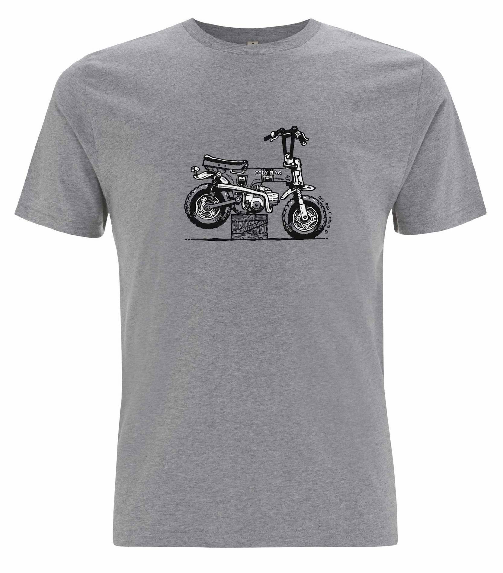 Oily Rag Clothing - Oily Rag Clothing Monkey Bike T'Shirt - T-Shirts - Salt Flats Clothing