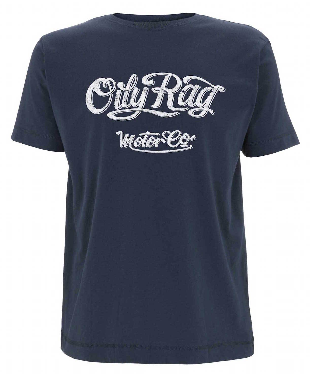 Oily Rag Clothing - Oily Rag Clothing Motor Co T'Shirt - T-Shirts - Salt Flats Clothing