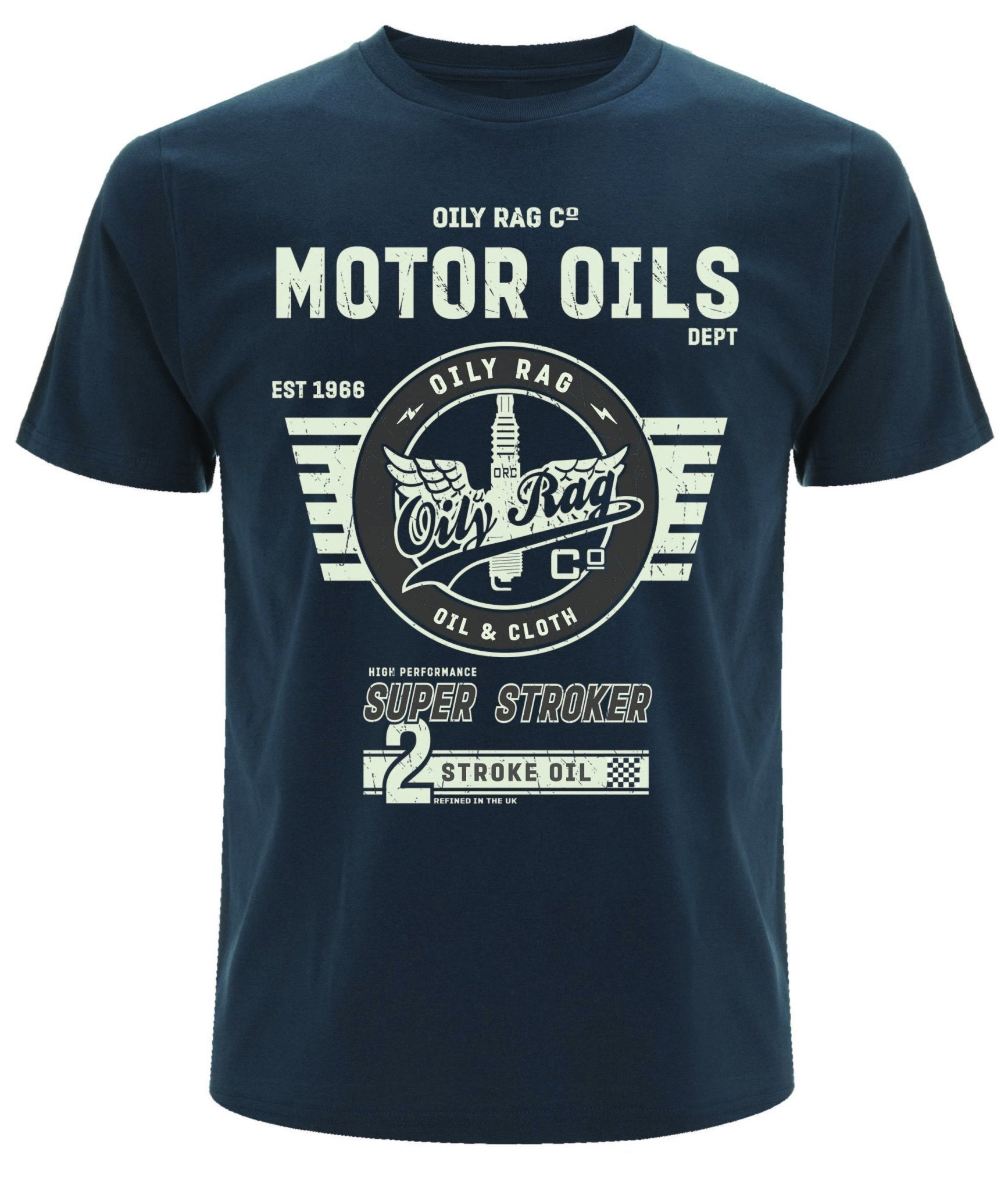 Oily Rag Clothing - Oily Rag Clothing Motor Oil T'Shirt - T-Shirts - Salt Flats Clothing