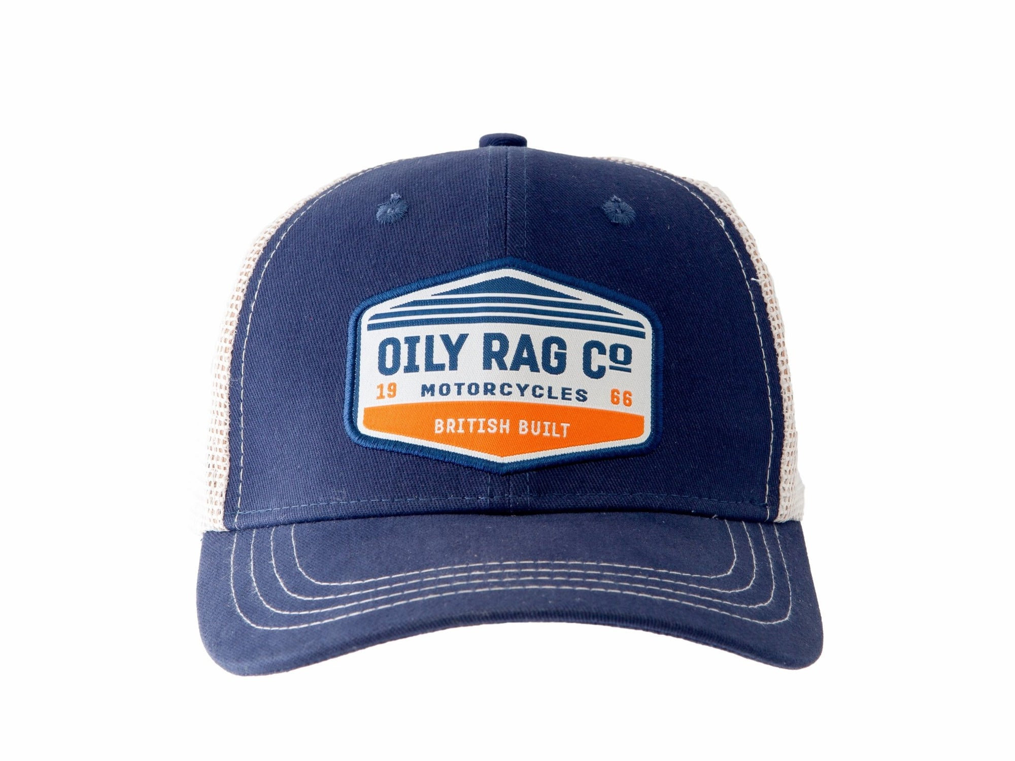 Oily Rag Clothing - Oily Rag Clothing Motorräder Trucker Cap - Caps - Salt Flats Clothing