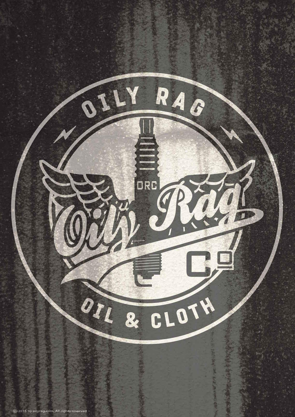Oily Rag Clothing - Oily Rag Clothing Oil and Cloth Alloy Sign - Signs - Salt Flats Clothing