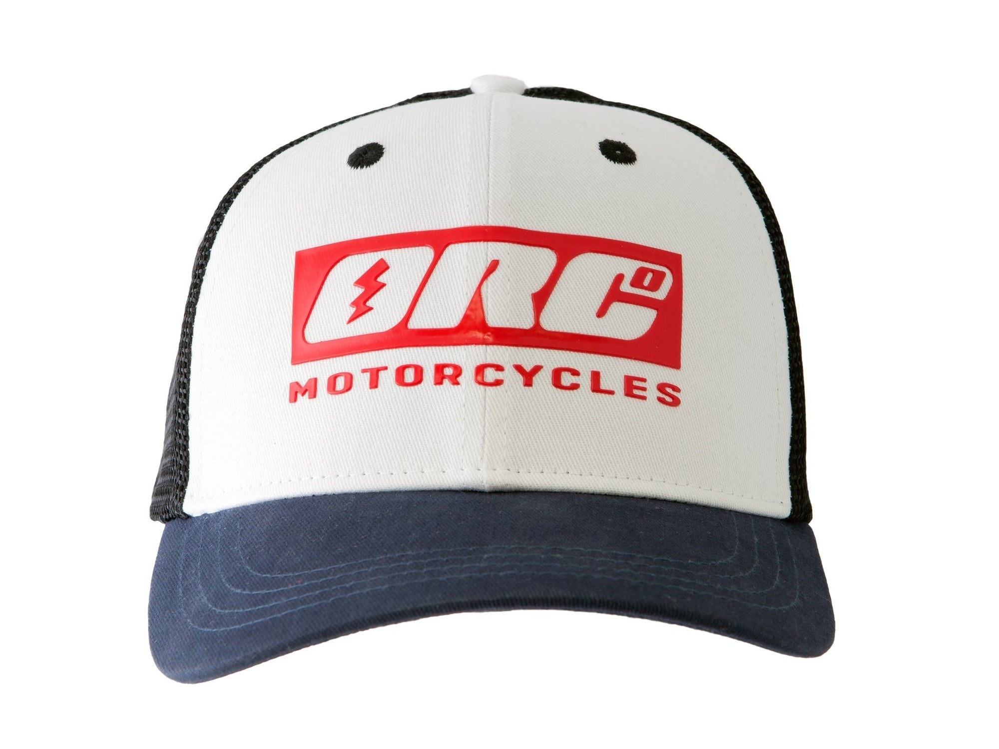 Oily Rag Clothing - Oily Rag Clothing ORC Motorcycles Trucker Cap - Caps - Salt Flats Clothing