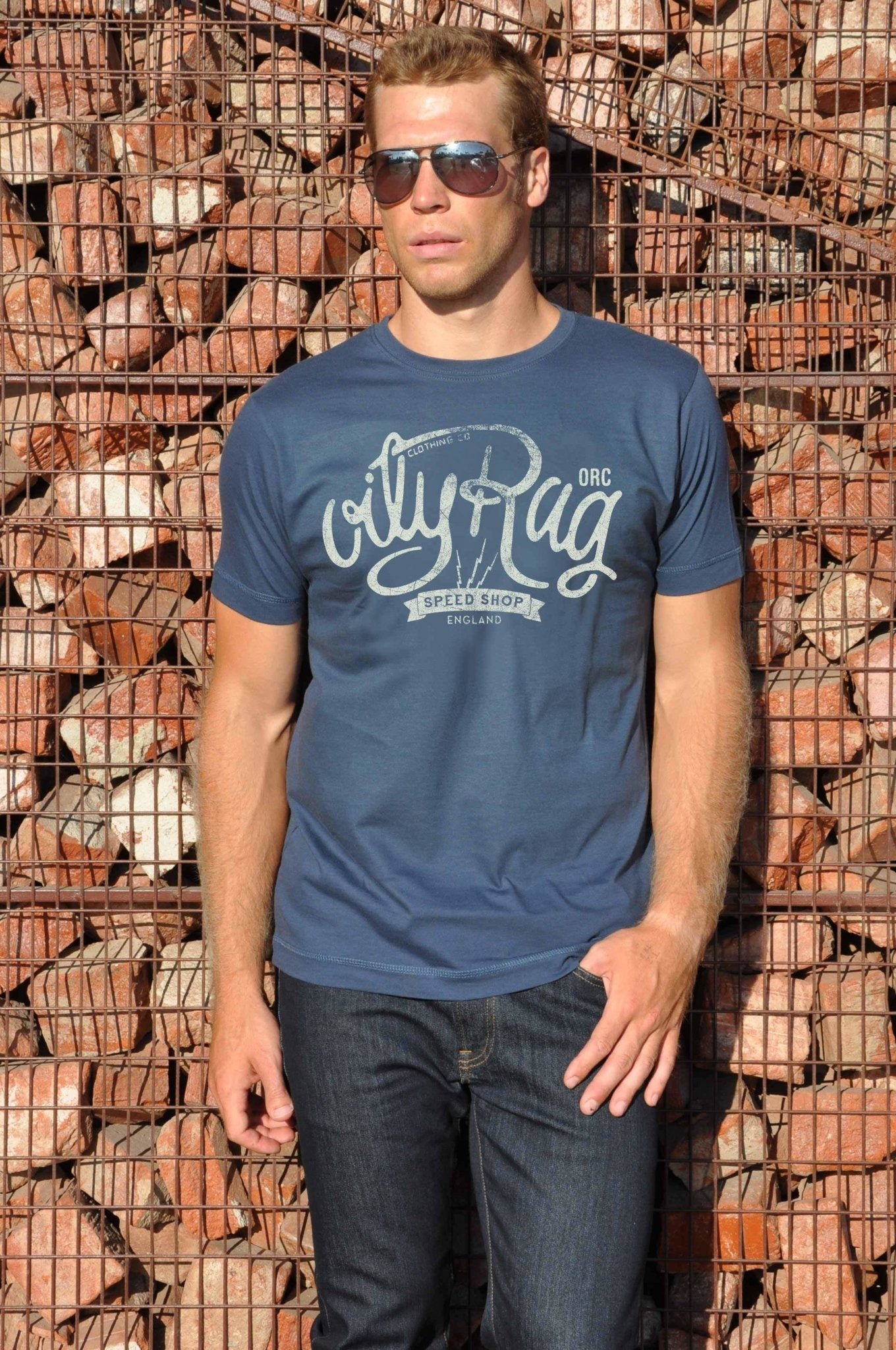 Oily Rag Clothing - Oily Rag Clothing Speed Shop T'Shirt - T-Shirts - Salt Flats Clothing