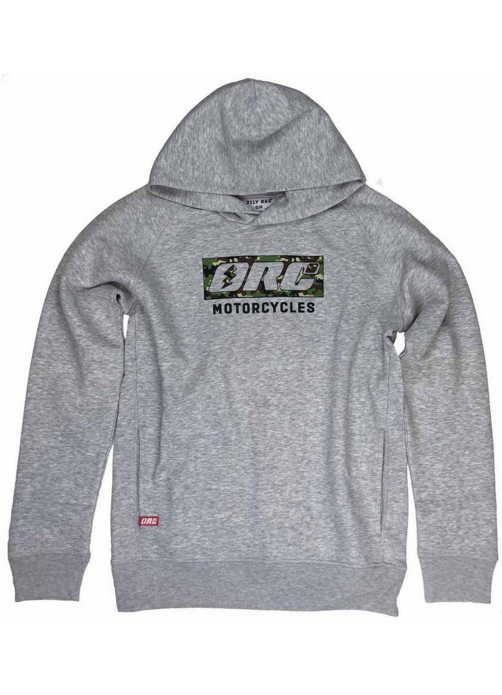 Oily Rag Clothing - Oily Rag Clothing Unisex ORC Motorräder schwarz Label Hoodie - Hoodies | Sweatshirts | Wind Stoppers - Salt Flats Clothing