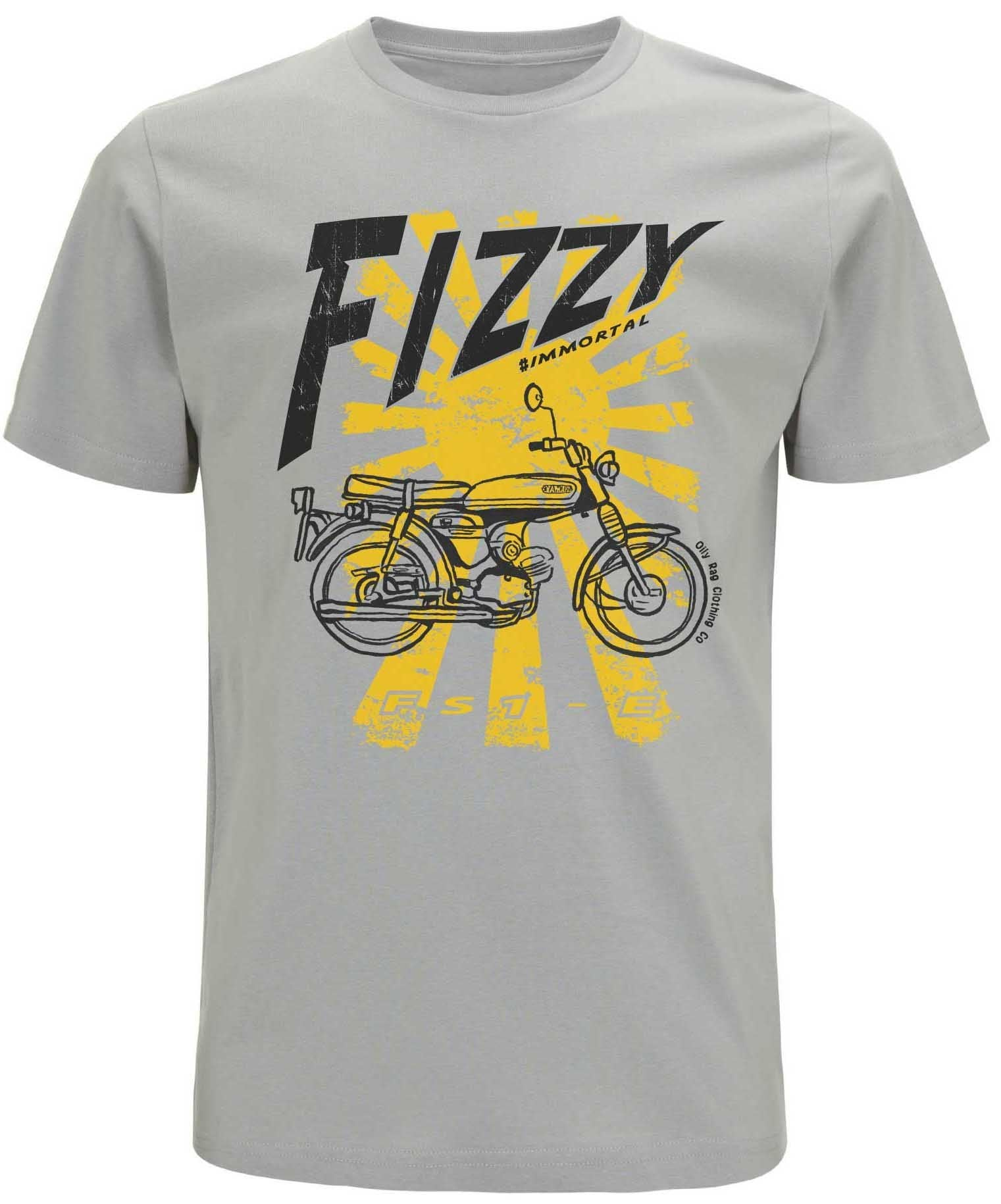 Oily Rag Clothing - Oily Rag Clothing Yamaha FS1-E (the Fizzy) T shirt - T-Shirts - Salt Flats Clothing
