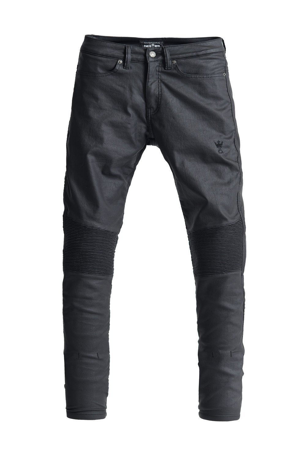 Pando Moto - Pando Moto Kusari Ladies Black Jeans - Ladies Trousers - Salt Flats Clothing