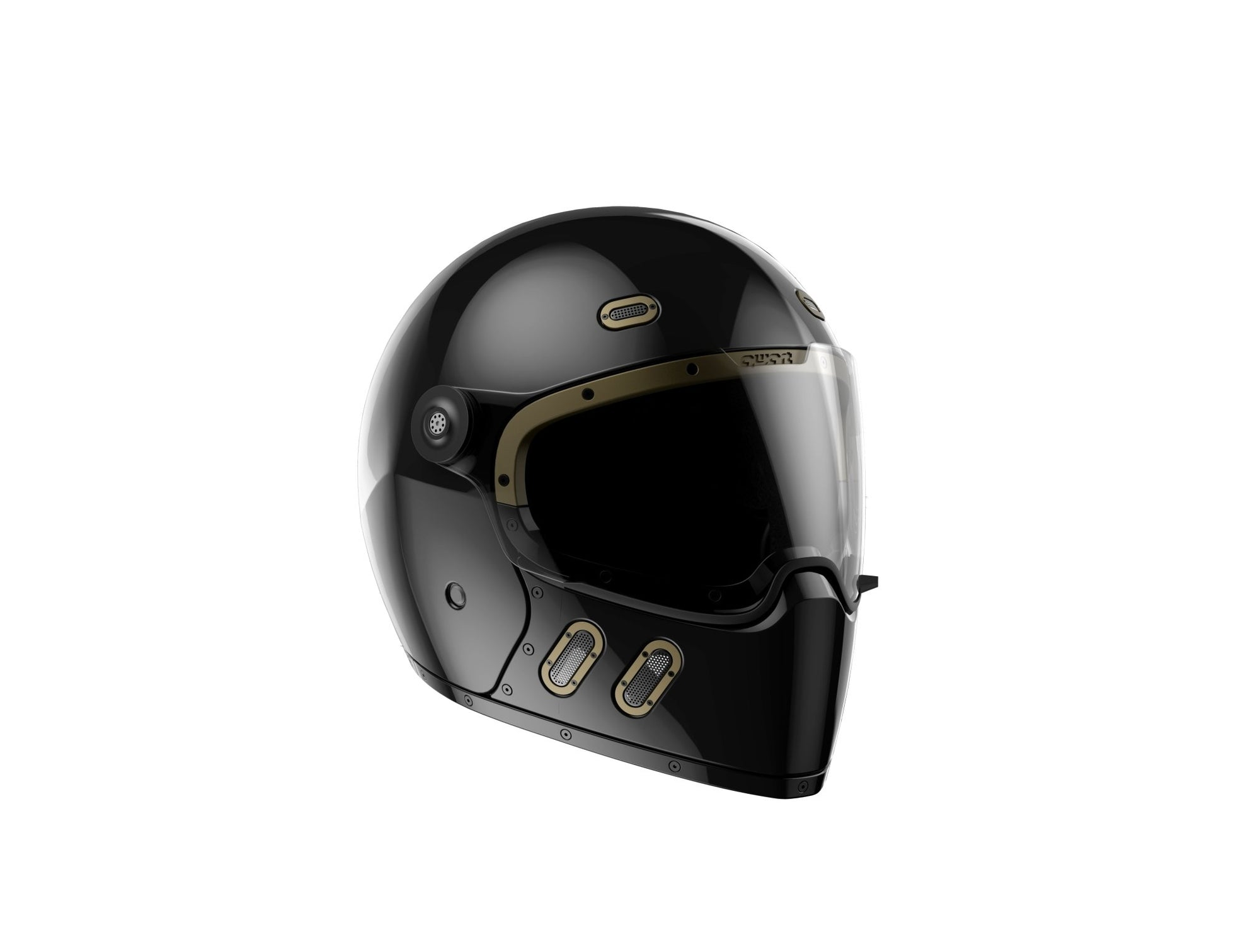 Qwart - Qwart Phoenix Standard Carbon Gloss Painted Full Face Helmet - Helmets - Salt Flats Clothing