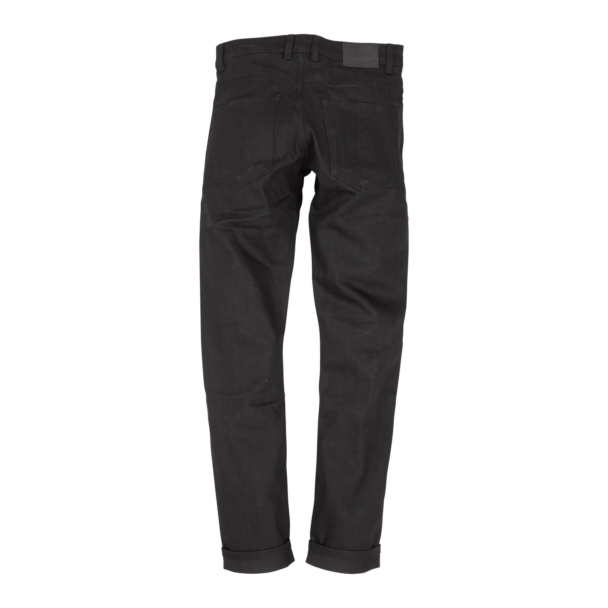 Resurgence Gear Inc. - Resurgence Gear® 2020 Cafe Racer PEKEV Motorcycle Jeans - Black - Men's Trousers - Salt Flats Clothing