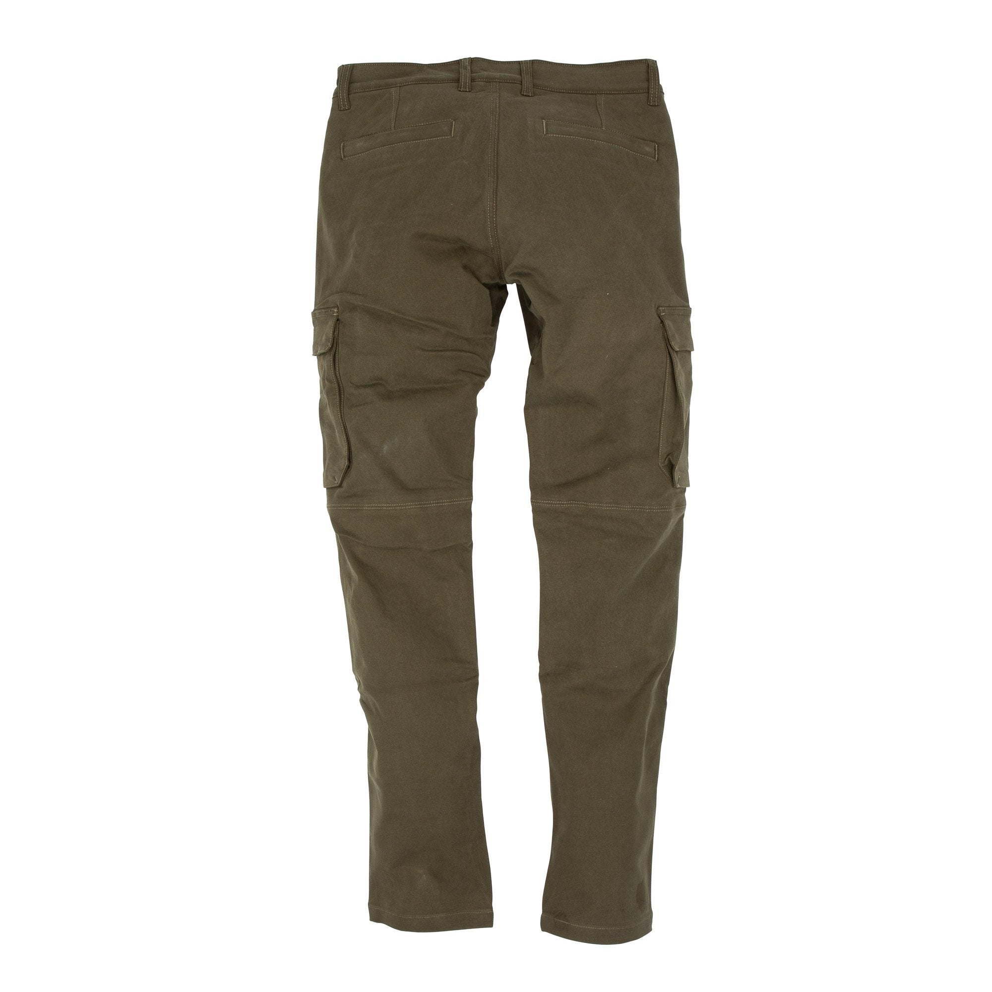 Resurgence Gear Inc. - Resurgence Gear® 2020 Cargo PEKEV Motorcycle Trousers - Military Green - Men's Trousers - Salt Flats Clothing
