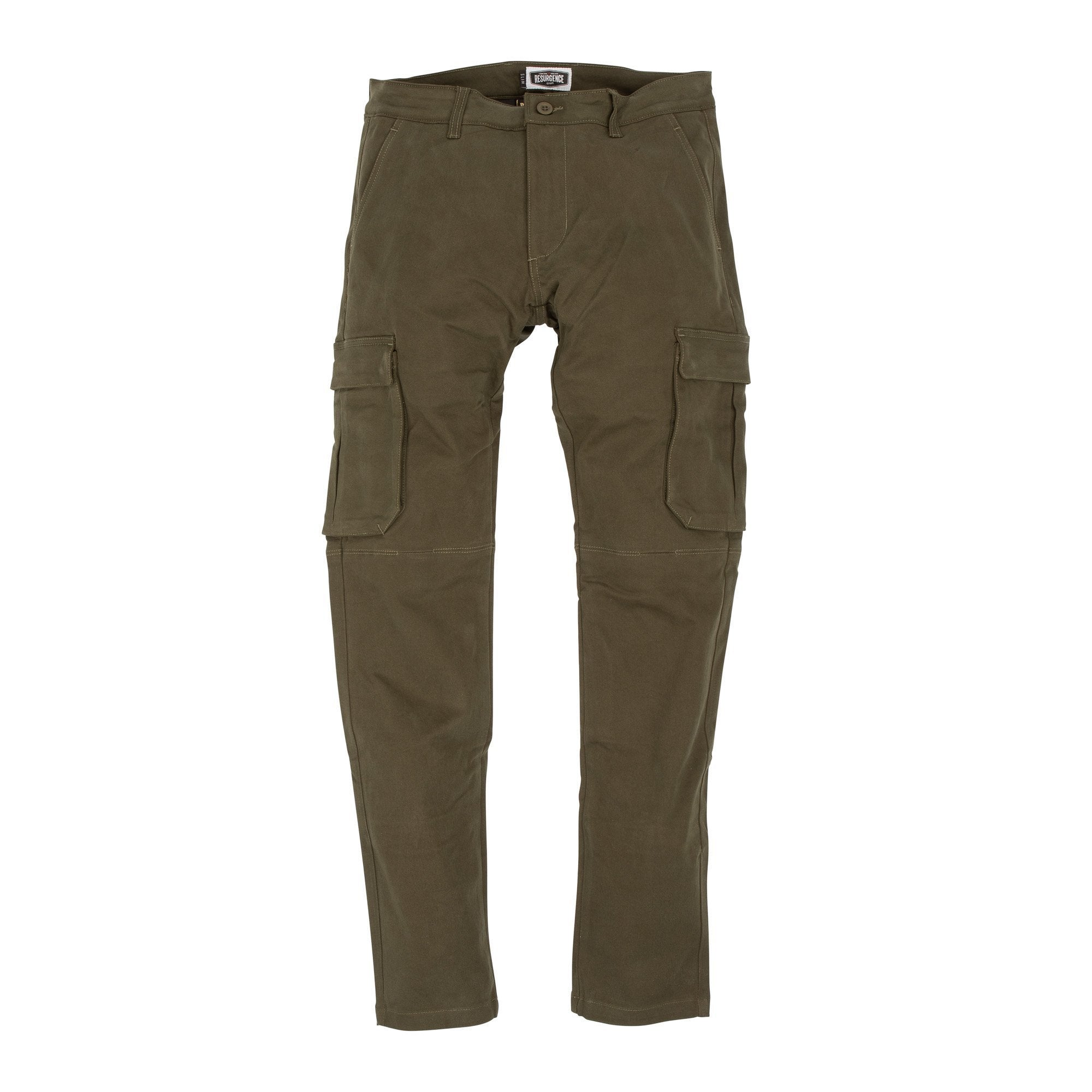 Resurgence Gear Inc. - Resurgence Gear® 2020 Cargo PEKEV Motorradhose - Military Green - Herrenhose - Salt Flats Clothing