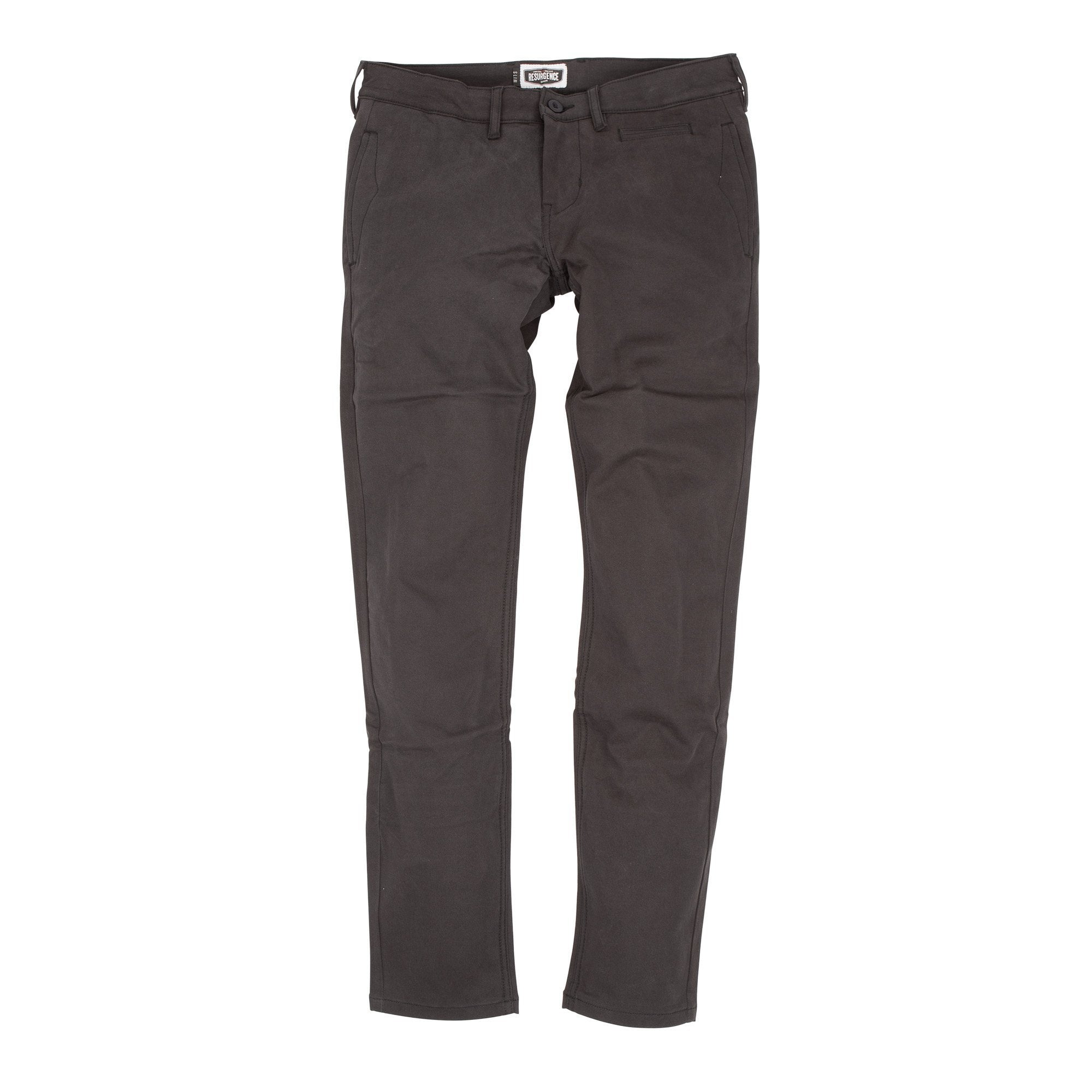 Resurgence Gear Inc. - Resurgence Gear® 2020 City Chino PEKEV Motorcycle Trousers - Black - Men's Trousers - Salt Flats Clothing