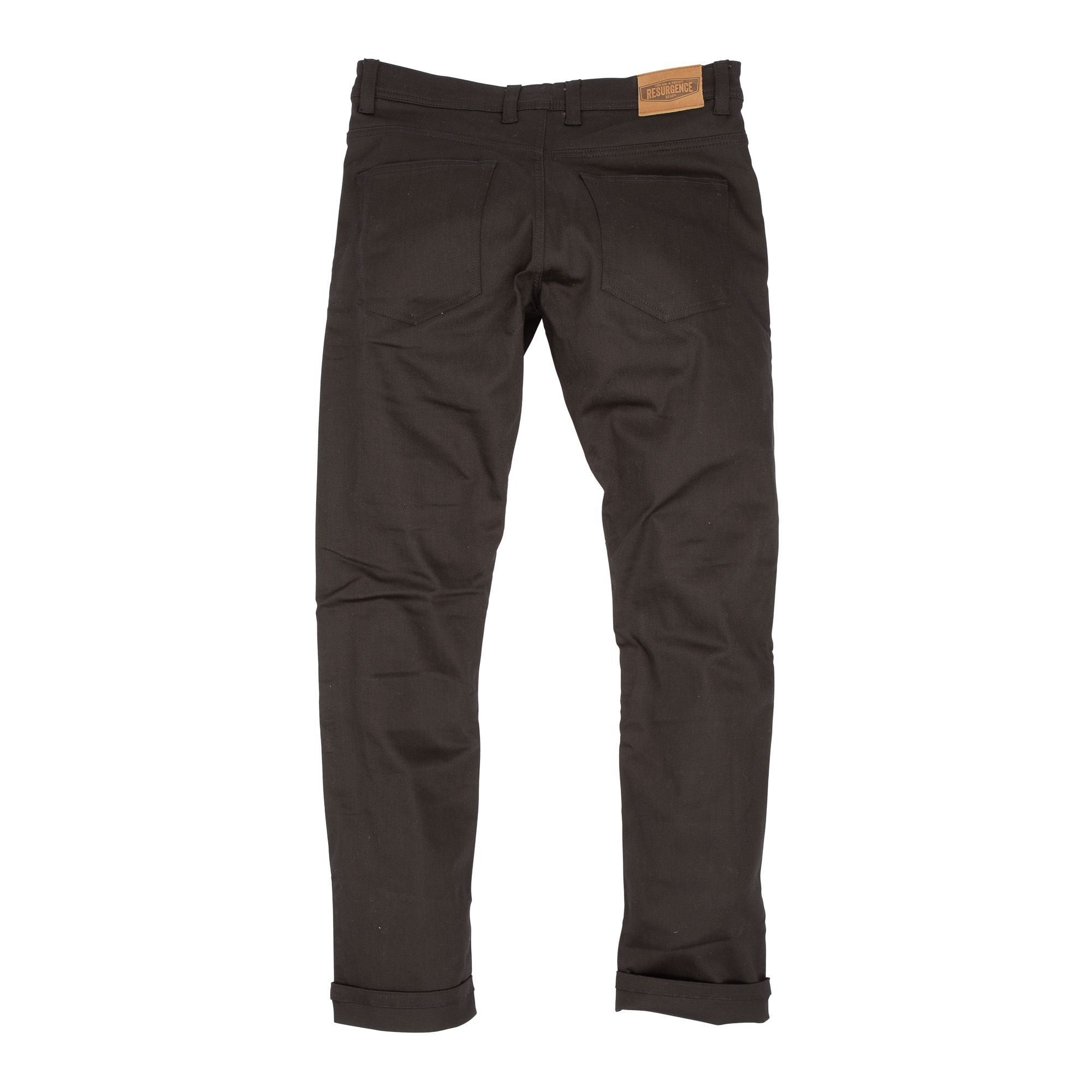 Resurgence Gear Inc. - Resurgence Gear® 2020 Warrior PEKEV Lite Motorcycle Jeans - Black - Men's Trousers - Salt Flats Clothing