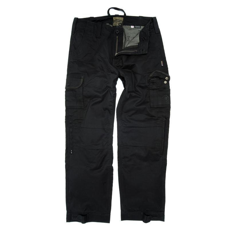 Resurgence Gear Inc. - Resurgence Gear® Cruiser PEKEV® Black Men's Cargo Trousers - Men's Trousers - Salt Flats Clothing